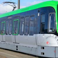 Light rail of the Kiepe Electric GmbH
