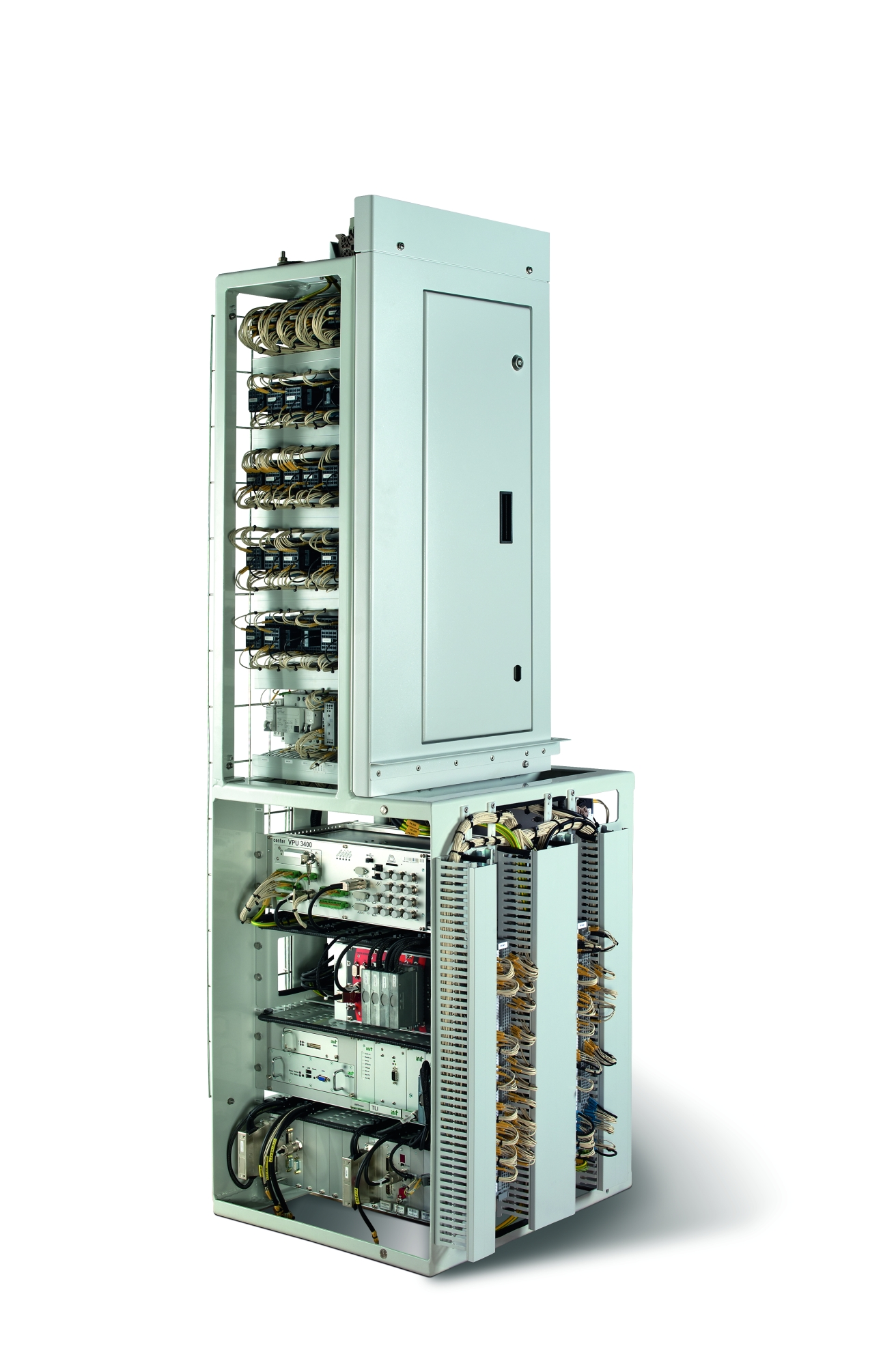 Switch cabinet for a vehicle control system