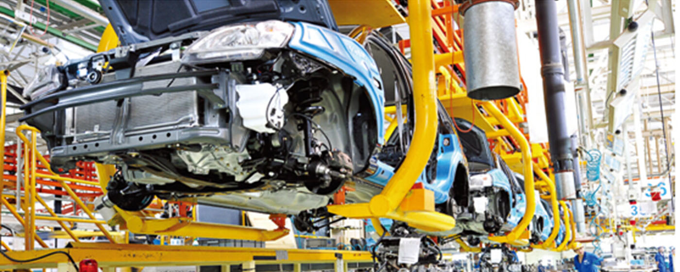 Production chez Beijing Automotive Group (BAIC)