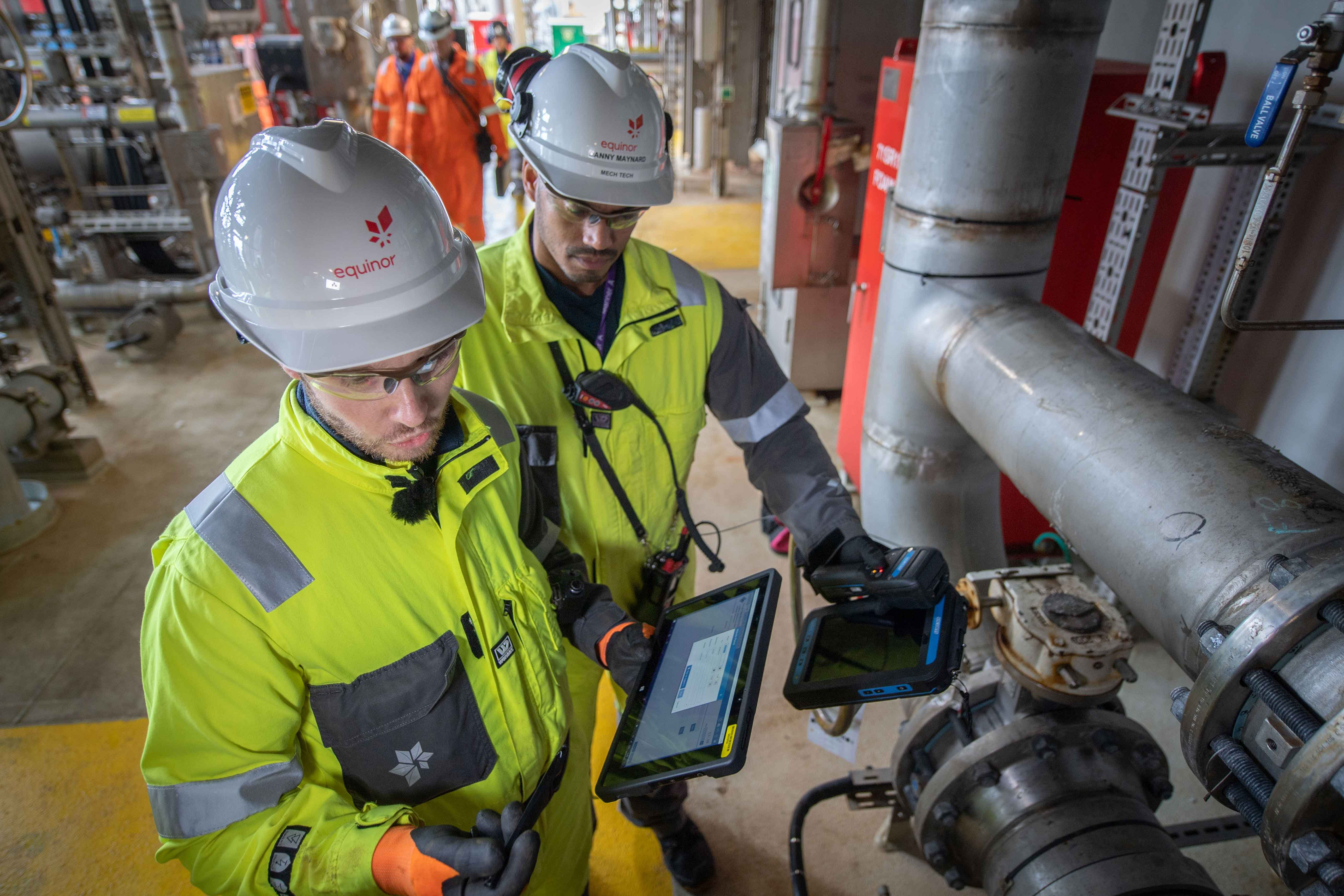 Equinor mariner works with EB
